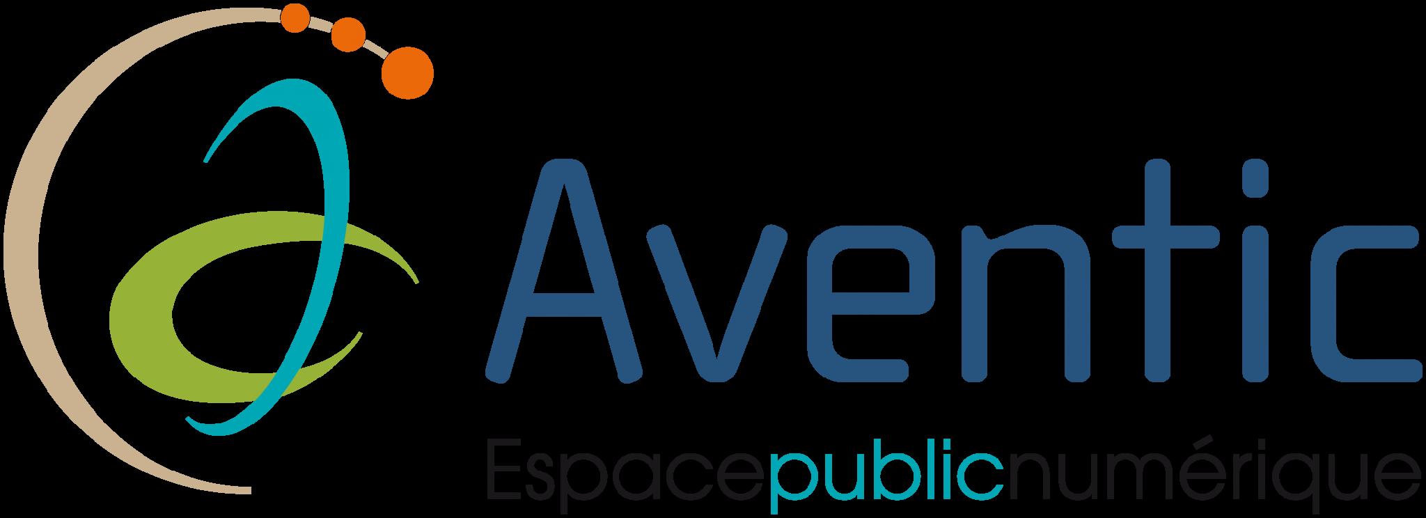 Aventic espace public numérique logo