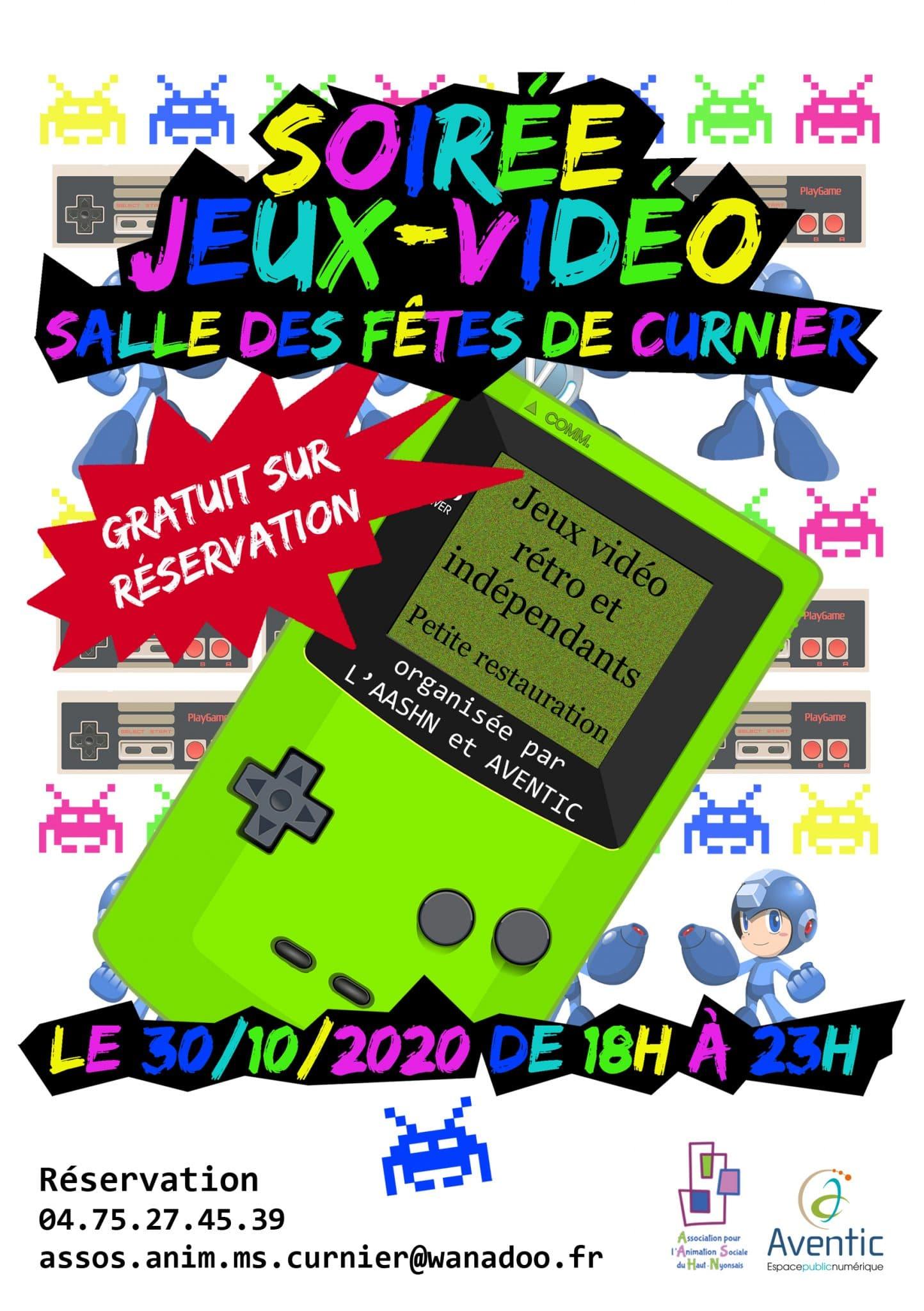 Soirée jeux vidéo - 30 oct 2020