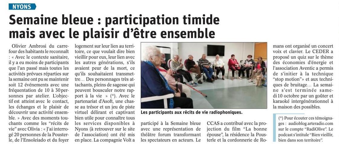 Dauphiné - octobre 2020